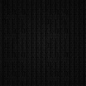 Dark  hex computer code — Stock Vector