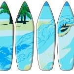 Surf board — Stock Vector #56477931