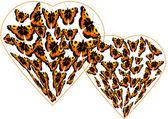 Batterflys — Stock Vector