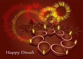 Diwali — Stock Vector