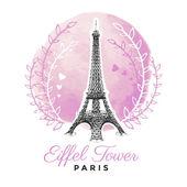 Eiffel Tower — Stock Vector