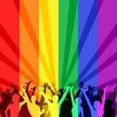 LGBT Community — Stock Vector