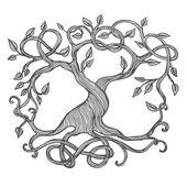 Celtic Tree of Life — Stock Vector