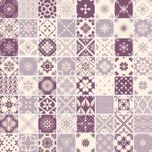Seamless 64 patterns — Stock Vector