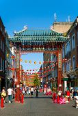 China town in London — Stock Photo