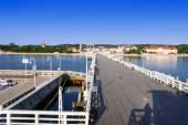 Sopot resort in Poland — Stock Photo