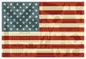 Flag of USA — Stock Vector