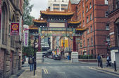 Chinatown in Manchester — Stock Photo