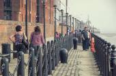 Albert Dock in Leiverpool — Stock Photo