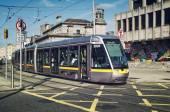 Tram in Dublin — Stock Photo