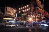 Malacca city at night, Malaysia — Stock Photo