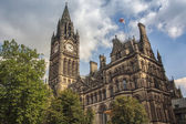 Manchester Town Hall — Stock Photo