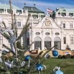 Christmas tree in Vienna — Stock Photo #57929797