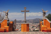 Cholula pyramid — Stock Photo