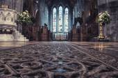 Cathedral interior, Ireland — Foto de Stock