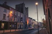 Cashel at night, Ireland — Stock Photo