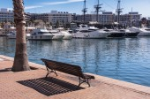 Alicante harbor — Foto Stock