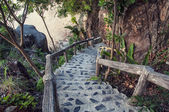 Steps to the beach — Stock Photo