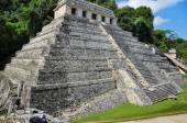 Mayan ruins in Palenque — Stock Photo