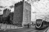 Tram in Rabat — Stockfoto
