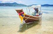 лодка в таиланде — Стоковое фото