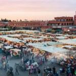 Jemaa el Fna in Marrakesh — Stock Photo #70969811