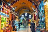 Krytego Bazaru w Stambule, Turcja — Zdjęcie stockowe
