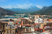 Aerial view of Cartagena, Spain — Stock Photo
