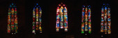 Wnętrzu gotycka katedra rzymsko-katolicka w Majorka, Hiszpania — Zdjęcie stockowe