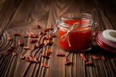 Natural diy chilli sauce sriracha — Φωτογραφία Αρχείου