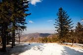 Beautiful winter mountains landscape  — Stock Photo