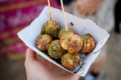 Thai no name meatballs — Stock Photo