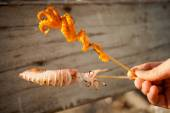 Thai skewer seafood barbeque — Stockfoto