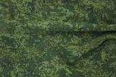 Wrinkled camouflage fabric — Stock Photo