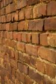 Brick wall angle — Stock Photo