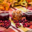 Cranberry sauce with apple cranberry relish — Stock Photo #59414229