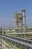 Oil and chemical plant — Stock Photo