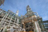 Petroleum plant on day time — Stock Photo