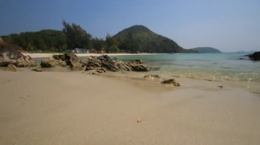 Beautiful beach in summer season of Thailand — Stock Video