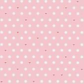 Roze harten achtergrond — Stockvector