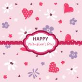 Valentine's Day — Vetor de Stock