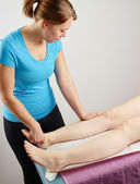 Osteopathy treatment — Stok fotoğraf