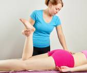Osteopathy treatment — Foto de Stock