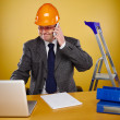 Engineer in office — Stock Photo #70876471