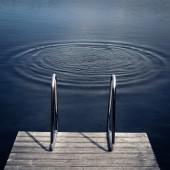Drowning scene — Stock Photo