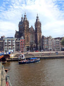 View of amsterdam — Stock Photo