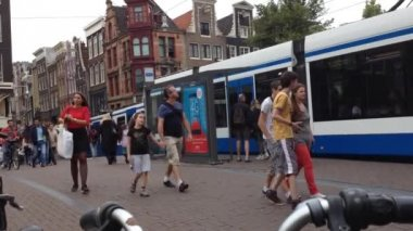 Real time in Amsterdam — Stock Video