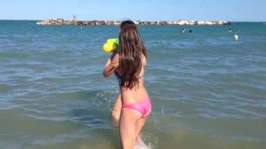Sea fun — Stock Video