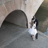 对结了婚的夫妇 — 图库照片