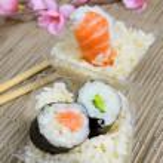 Frozen shrimp — Stock Photo #54124791